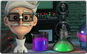 Click to play Mad Scientist Bonus Slot