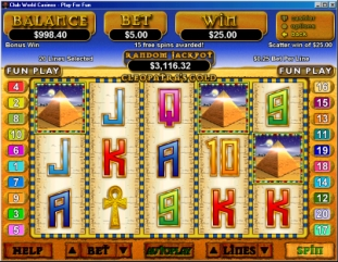 Cleopatra's Gold Slot Game