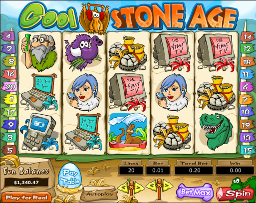 png of Cool Stone Age Bonus Slot