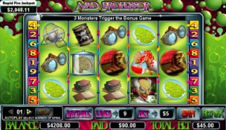 Mad Professor Video Slots