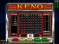 Click to play Online Keno