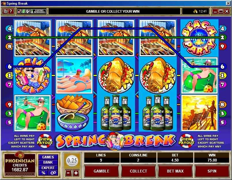 Spring Break Bonus Slot