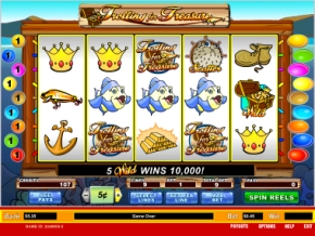 Click to Play Trolling for Treasure Slot Game